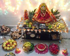 Lakshmi Puja rangoli