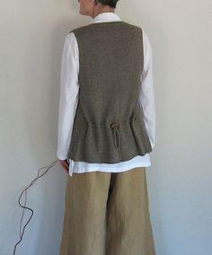 Ravelry: Summer Trilogy, Part I, Vest pattern by Julia Duren