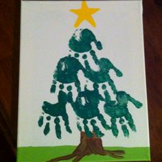An adorable craft idea for little ones. I did this with my three year old nephew :) he loves to paint. An adorable craft idea for little ones. I did this with my three year old nephew :) he loves to paint. Crafts For 3 Year Olds, Christmas Crafts For Toddlers, Toddler Christmas, Christmas Activities, Christmas Crafts For Kids, Xmas Crafts, Christmas Fun, Christmas Cards, Holiday
