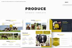 Produce - Keynote Template by aqrstudio on Envato Elements Powerpoint Maker, Powerpoint Themes, Microsoft Powerpoint, Powerpoint Presentation Templates, Keynote Template, Powerpoint Modelos, Portfolio Presentation, Envato Elements, Marketing