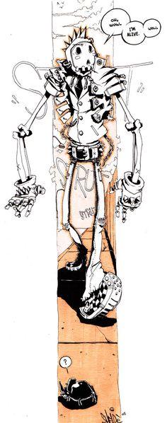 skeletal strut by shelde5000 on DeviantArt