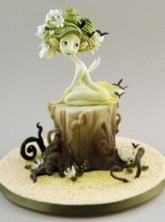 carlos sugar art | Flora the Woodland Fairy by Carlos Lischetti | Squires Kitchen School