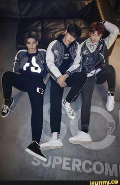 NCT - Taeyong, Jaehyun & Mark