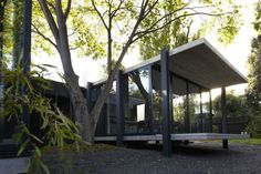 """By Architects EAT, """"Elm & Willow House"""" involves restoration and alteration to the existing Edwardian house and the demolition and construction. Floor Design, House Design, Farnsworth House, Willow House, House Journal, Edwardian House, Melbourne House, Courtyard House, Architect House"""