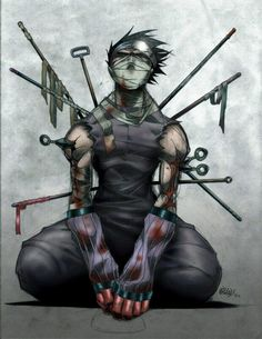 So awesome art Zabuza #Zabuza #naruto #cosplayclass