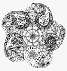 dynamic doodling (zen/art drawing)