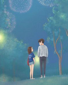 My ID is Gangnam Beauty fanart dabian超人 Love Cartoon Couple, Cute Couple Art, Anime Love Couple, Cute Anime Couples, Kdrama, Cute Couple Wallpaper, Dibujos Cute, Cha Eun Woo, Korean Art