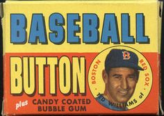 1956 Topps Pins box