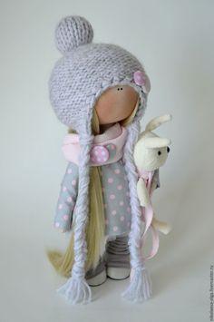 Fabric doll | Купить Интерьерная текстильная кукла - кукла ручной работы, кукла интерьерная, кукла текстильная