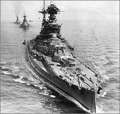 Queen Elizabeth-class battleship HMS Barham in 1941.