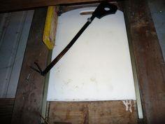 cutting board coop door