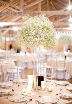 гипсофила на свадьбе