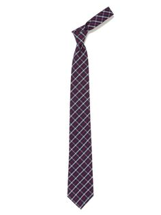 Plaid Cotton Tie by Fahlgren on Gilt.com