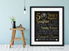 ANY Year, Wedding Anniversary Present, 20 Year Anniversary Gift For Husband Parent, Custom Anniversary Gift Couple, Wife 20 Year Anniversary Gifts, Girlfriend Anniversary Gifts, Wedding Anniversary Presents, 50th Anniversary, Parent Gifts, Christmas Gifts, Holiday, Beautiful Moments, Grandparents