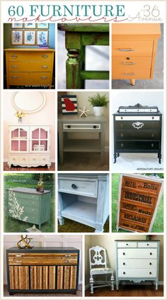 @: 60 Furniture makeovers- 50 to 61