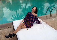 Lorena Baricalla Ambassadress CreaZen's label by Sophie Rouault Spring 2015 I love it..........