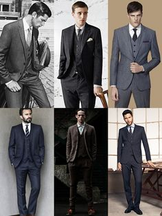 (Mairie?) Men's Three-Piece Suit Lookbook