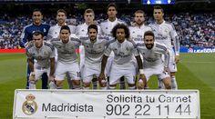 El once del Real Madrid ante el Elche. FOTO: Diego G. Souto