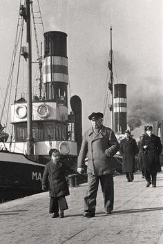Hamburg Hafen 50er Jahre, Foto John Holler