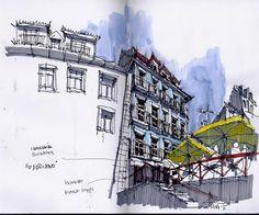 © Pedro Alves - Urban Sketchers - Lisboa