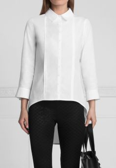 Polly White Shirt | Anne Fontaine …
