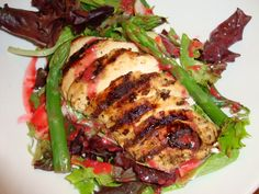 Prepare a healthy, gourmet-worthy meal in a flash with today's Chicken & Goat Cheese Salad recipe! Courtesy of Tryst Café.