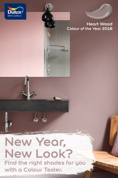 Try a new colour in your bathroom in 2018 for only £1.67 (Free P&P)