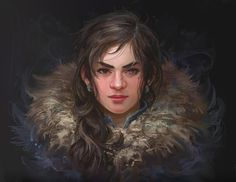 Dnd Characters, Fantasy Characters, Female Characters, Character Portraits, Character Art, Fantasy Portraits, Portrait Images, Female Portrait, Dnd Dwarf