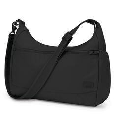 pacsafe Citysafe CS200 Anti-Diebstahl Handtasche Black