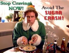 CHRISTMAS IS COMING! Get your sugar cravings under control with PLEXUS! #elf #sugarforbreakfast