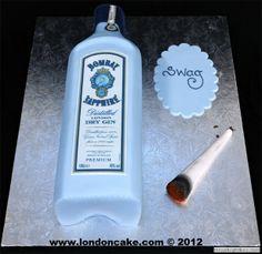j germeister bottle cake smartiebox cakes pinterest. Black Bedroom Furniture Sets. Home Design Ideas