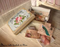 French mail box - 1/12 dolls house dollhouse miniature RESERVED