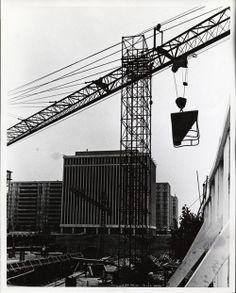 Crystal Plaza construction, ca. 1967