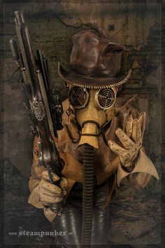 Steampunk Clothing - Wild Wild West... comlete handcrafted leather outfit www.facebook.com/steampunkartwork www.steampunker.de #steampunk #Steampunker #clothing #kleidung #fashion #madmax #furyroad #wgt2015 #victorian #1900 #retro #vintage #schlesier