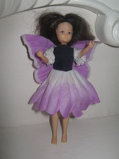 Vintage 80s toys Hornby Flower fairies collector's doll Helitrope fairy 1980s |  To funny