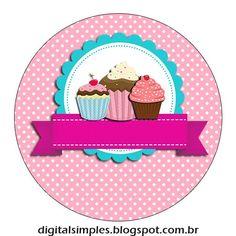 Cupcake Logo, Cupcake Party, Logo Doce, Pastry Logo, Baking Logo, Cake Logo Design, Foto Blog, Girl Cooking, Cake Business