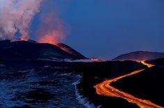 Plosky Tolbachik volcano eruption, Kamchatka, Russia photo 7