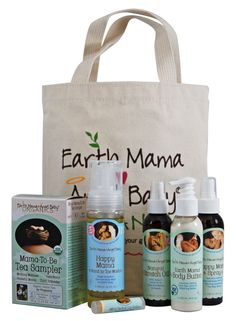 Pregnancy Essentials Bundle from Earth Mama Angel Baby
