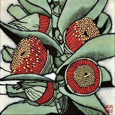 "Julie Hickson, ""Eucalyptus macrocarpa"""