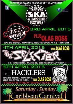 Tramore Ska Festival, april 3rd 2015