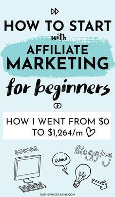 Learn to make money with affiliate marketing in a quick and easy way! Everything you need to know as a beginner to make your first sale, including a list of all the best programs to apply to! Amazon Affiliate Marketing, Online Marketing, Marketing Program, Marketing Plan, Digital Marketing, Marketing Automation, Marketing Strategies, Mobile Marketing, Inbound Marketing