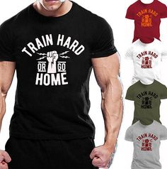 MMA BODYBUILDING GYM MOTIVATION T-Shirt  WORKOUT CLOTHING TRAINING MAN