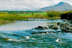 The Umzimkulu River in the Natal Midlands. KZN, S.A.