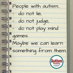 Quotes About Autism - Autism Parenting Magazine http://www.autismparentingmagazine.com/quotes-about-autism-2/?utm_content=buffereb888&utm_medium=social&utm_source=pinterest.com&utm_campaign=buffer #autism #aspergers #specialneeds #autismquote