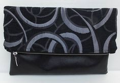 Clutch Bag Fold Over Clutch Clutch Leather Purse Evening