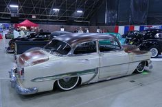 "1954 Chevrolet With 18"" Steelies (Jimenez Bros Customs) (Detroit Steel Wheels) (Lords CC Riverside, CA)"