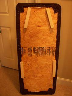 Make a big Ironing board