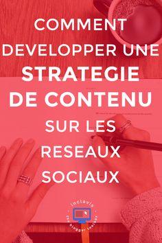 Développer une stratégie de contenu pour les réseaux sociaux