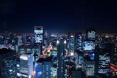 Night View of Osaka, Japan / 夜景, 大阪