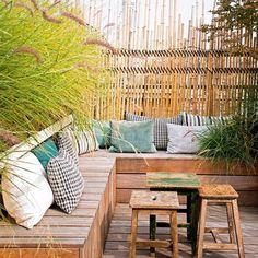 Aménagement terrasse verdoyante